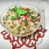 Közlenmiş Biberli Pirinç Salatası